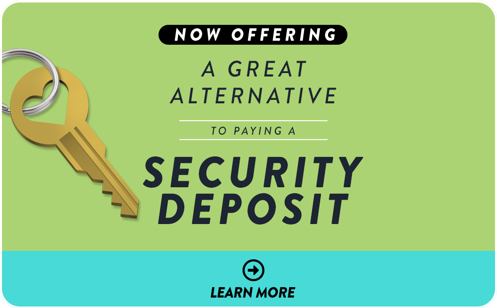 A Great Alternative to Paying a Security Deposit